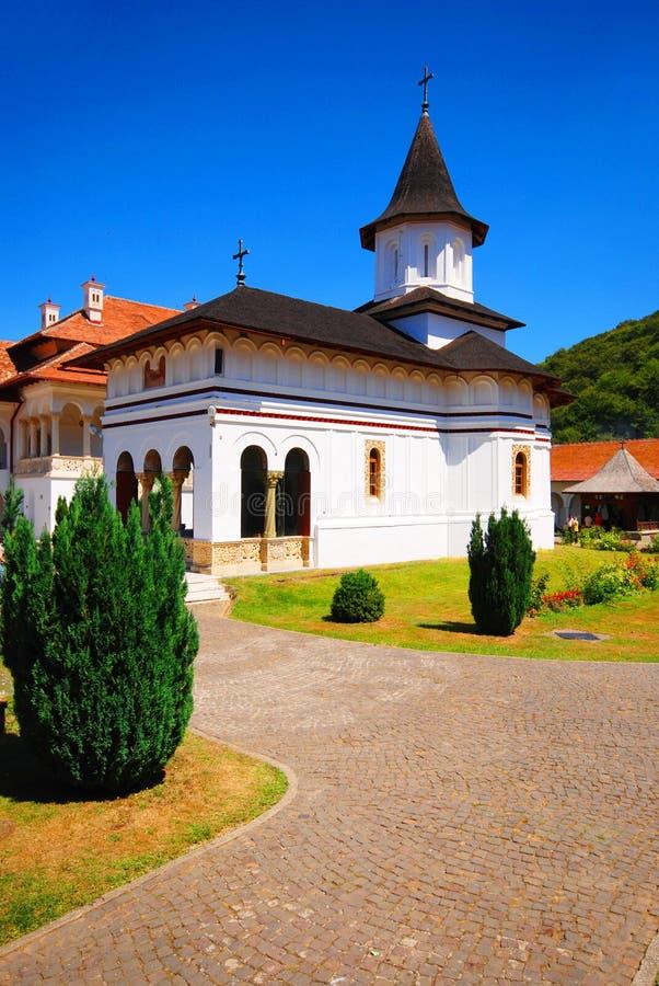 brancoveanukloster royaltyfri fotografi