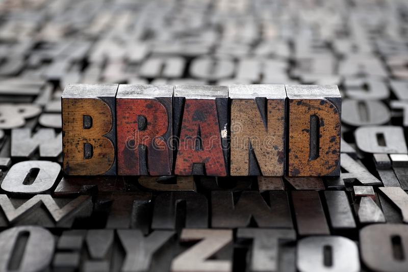 Brand royalty free stock image