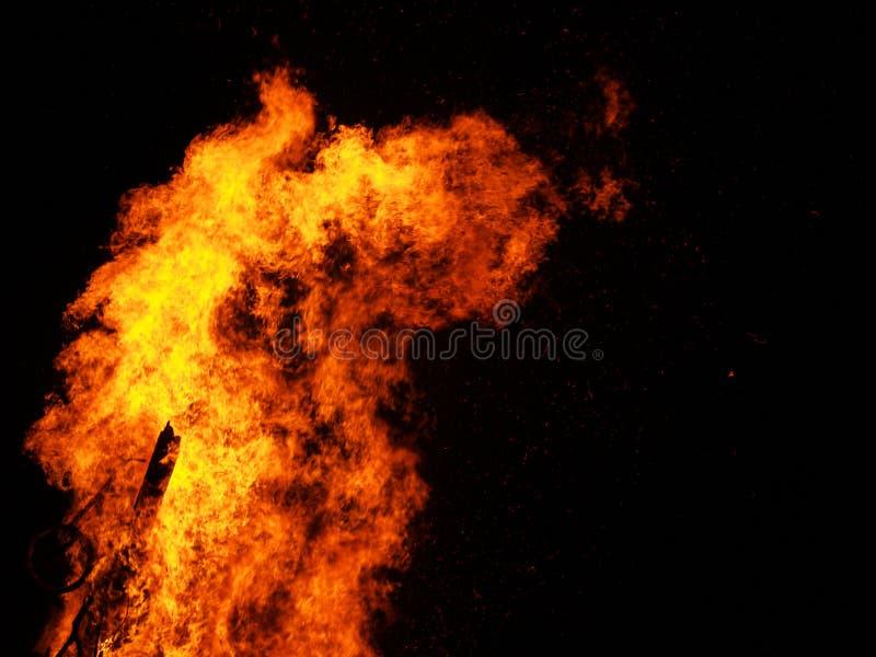brand 7 arkivfoto