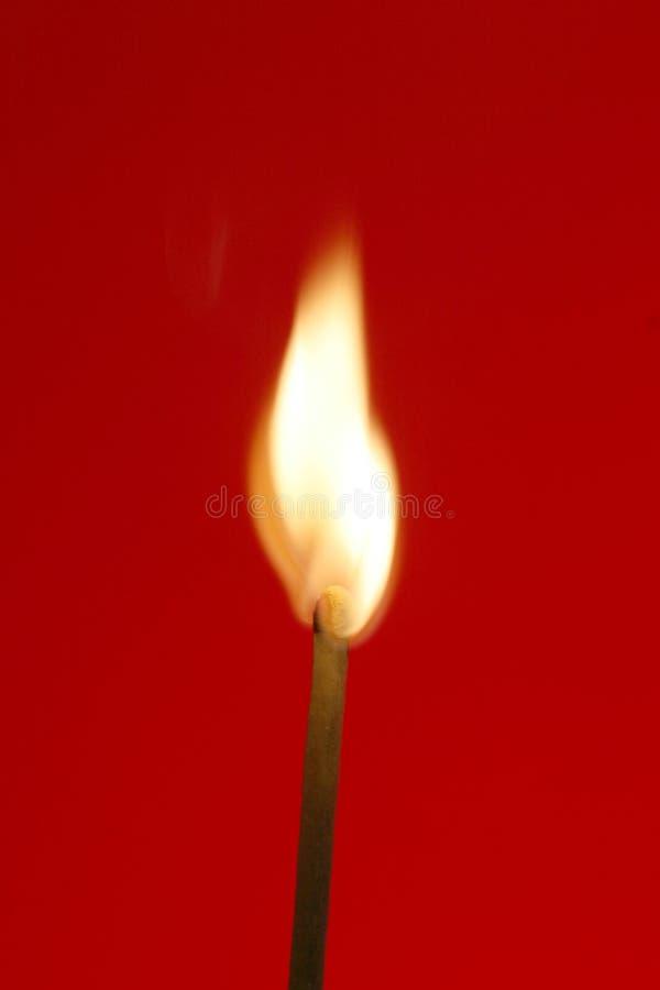 Brand-aanzet stock fotografie