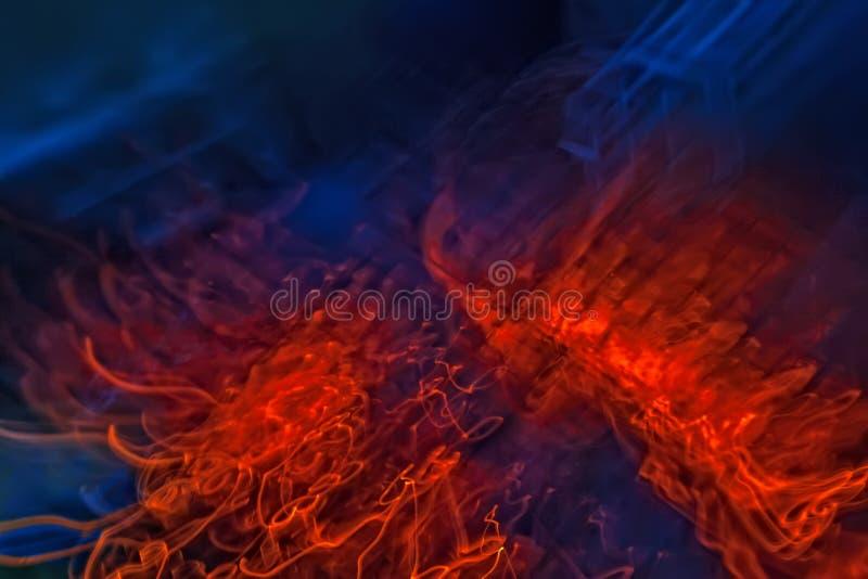 Brand achtergrondabstractie royalty-vrije stock foto