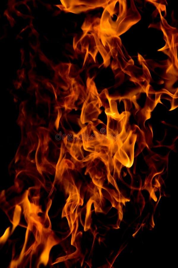 Brand bij 4000ths van een Seconde royalty-vrije stock foto