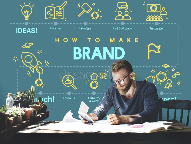 Brand Branding Copyright Label Logo Marketing Concept royalty free stock photo
