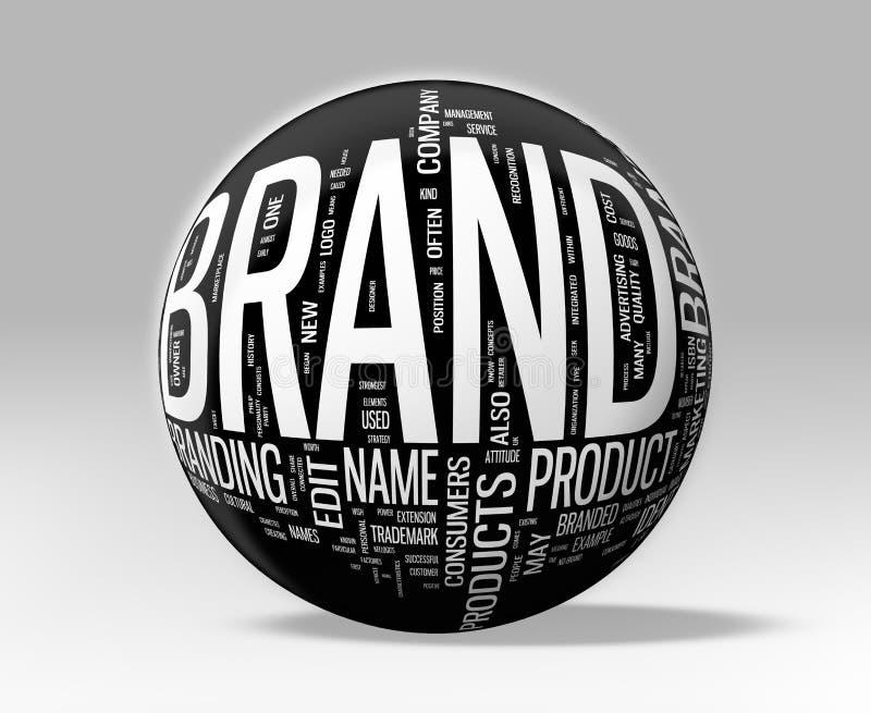 Brand vector illustration
