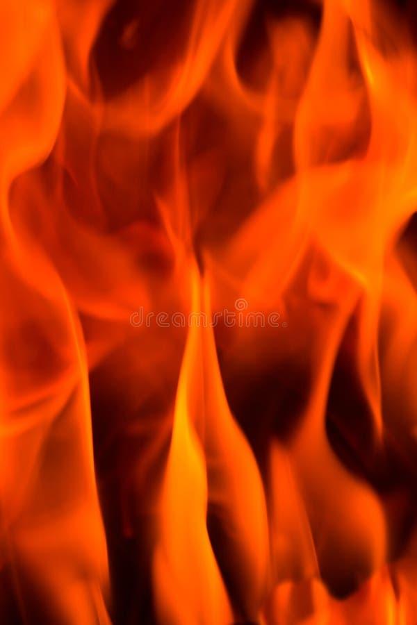 Brand in een open haard royalty-vrije stock fotografie