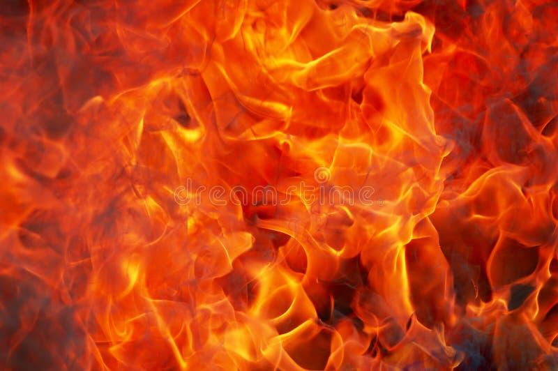Brand en rook stock foto's