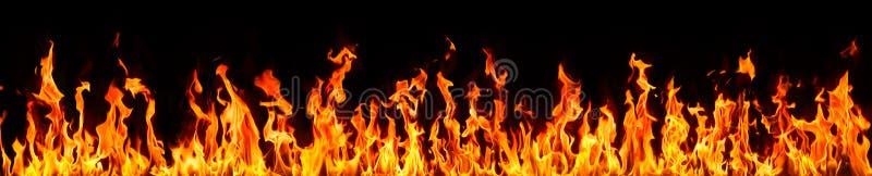 Brand en vlammen royalty-vrije stock foto's
