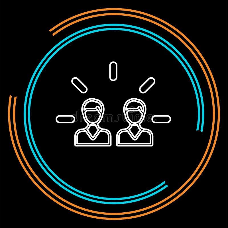 Brand engagement icon. element illustration stock illustration