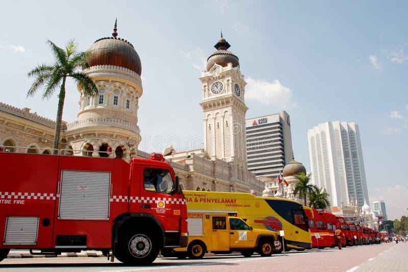brand för 2011 dagkämpar royaltyfri foto