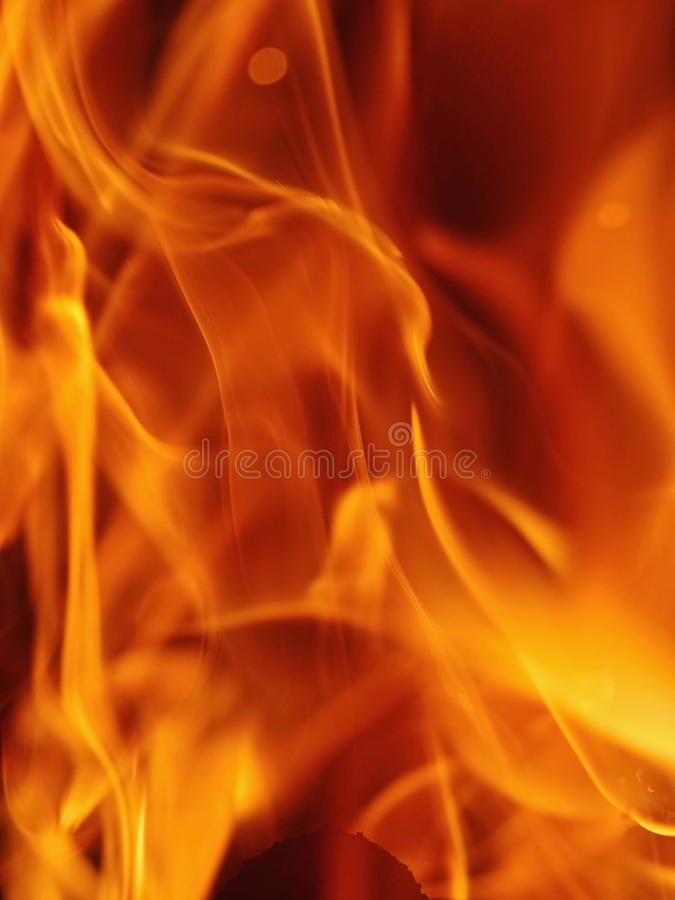 Brand het opvlammen royalty-vrije stock foto's