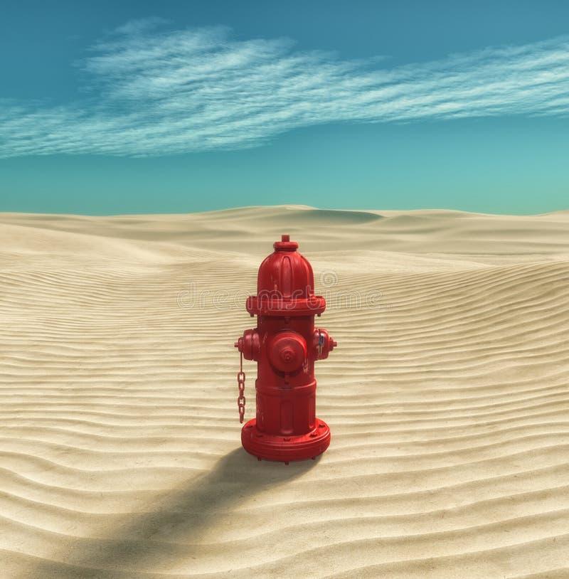 Brand Hidrant arkivbild