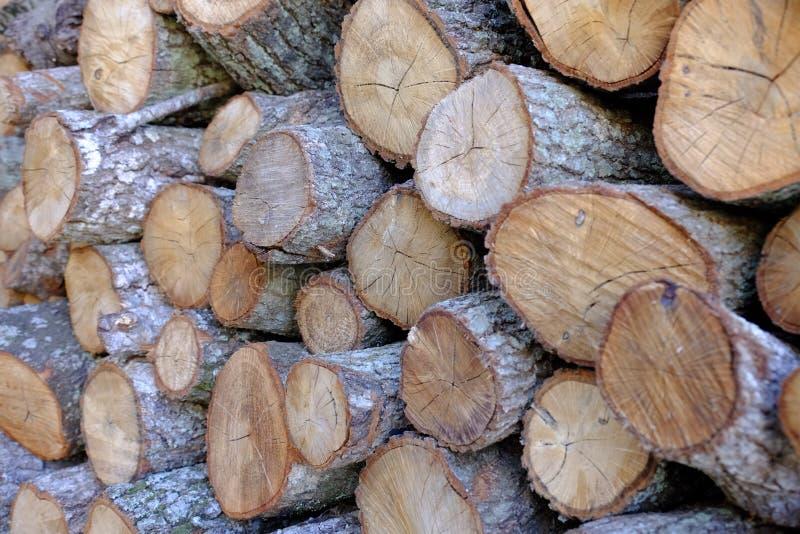 Brand houten Klaar en het Wachten stock afbeeldingen