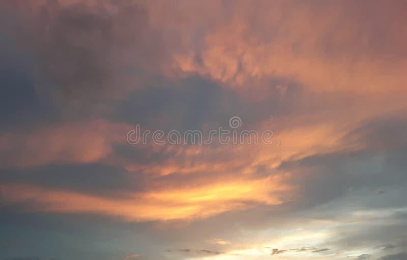 Brand i den Wichita himlen royaltyfri foto