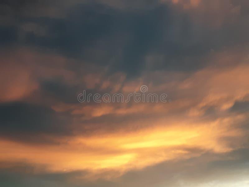 Brand i den Wichita himlen 3 royaltyfri bild
