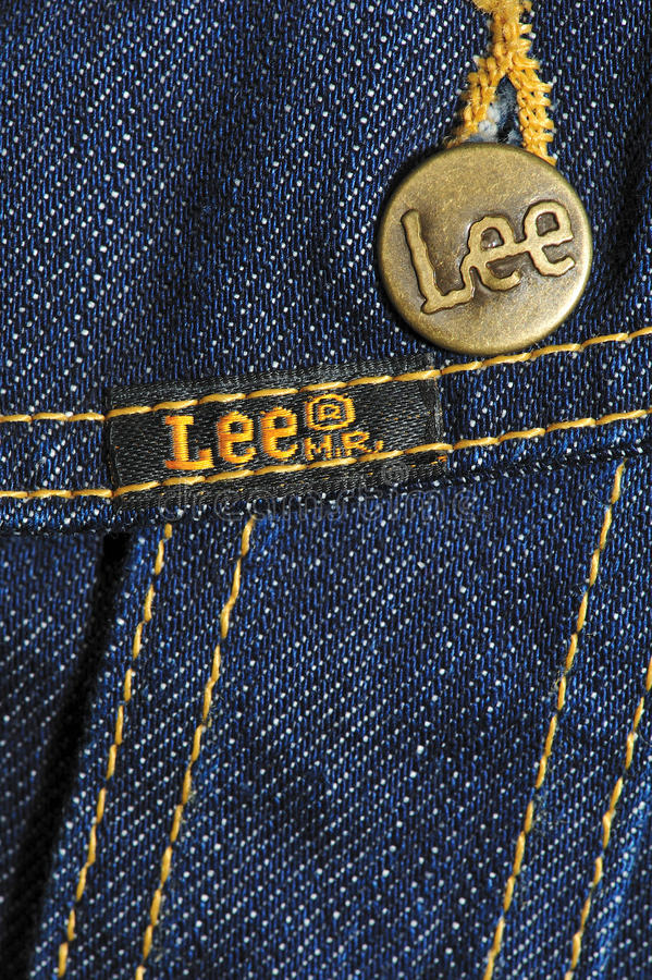 Download Brand jeans jacket editorial stock photo. Image of buttons - 17166018