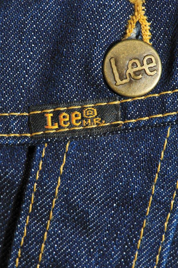 Brand jeans jacket royalty free stock photos