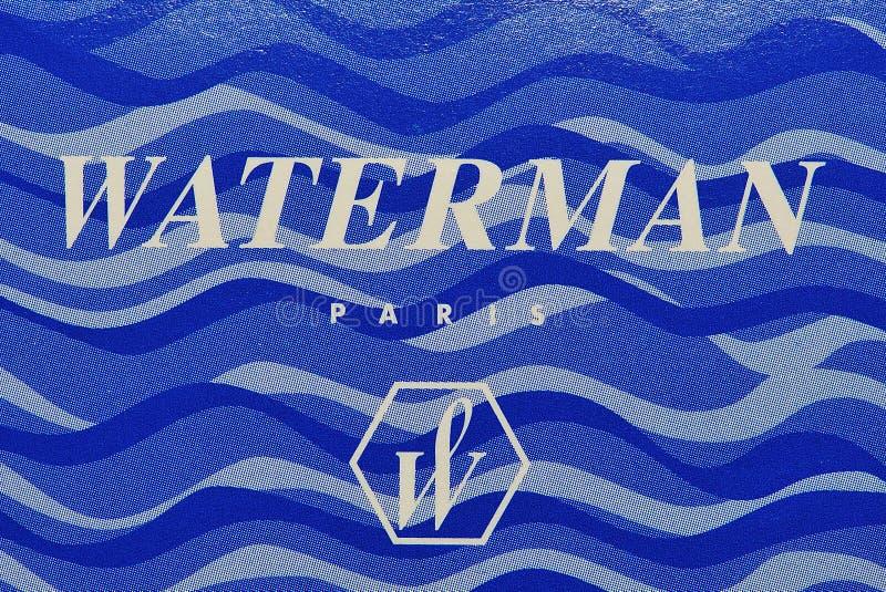 Brand and logo waterman royalty free stock photos