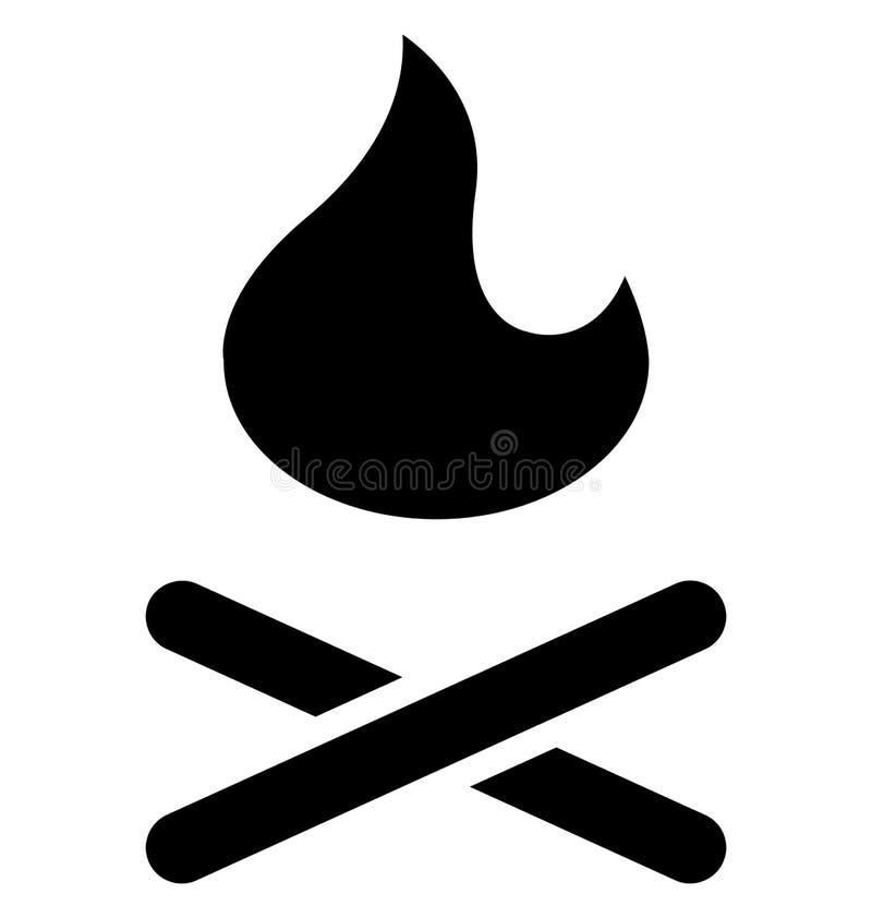 Brand lokalisierte Vektor-Ikone, die Brand lokalisierte Vektor-Ikone leicht ?ndern oder redigieren kann, die leicht ?ndern oder r stock abbildung