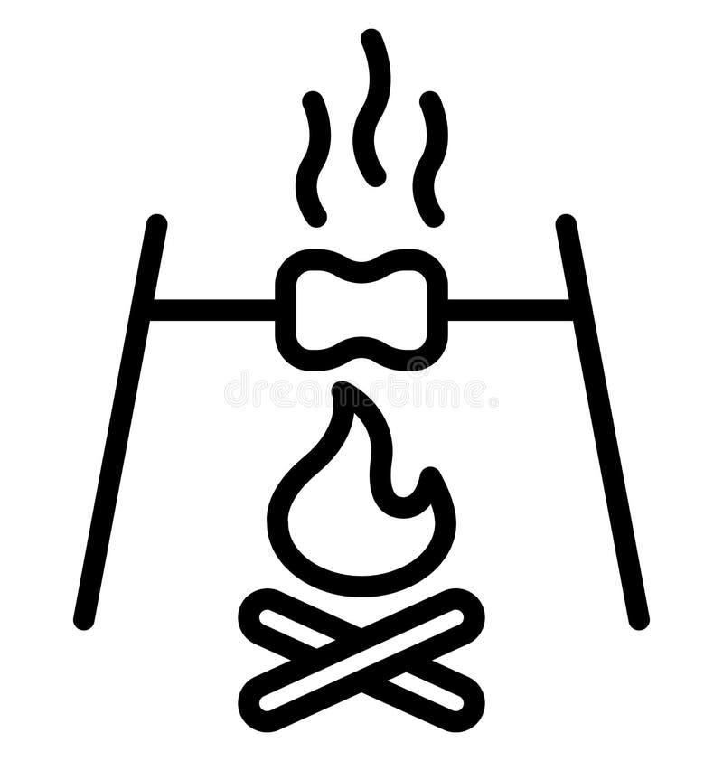 Brand lokalisierte Vektor-Ikone, die leicht ?ndern oder redigieren kann lizenzfreie abbildung