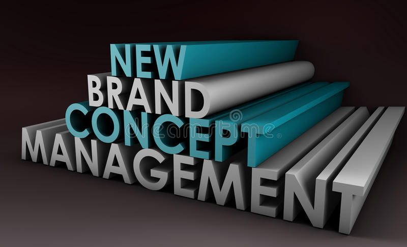Brand Management royalty free stock photos