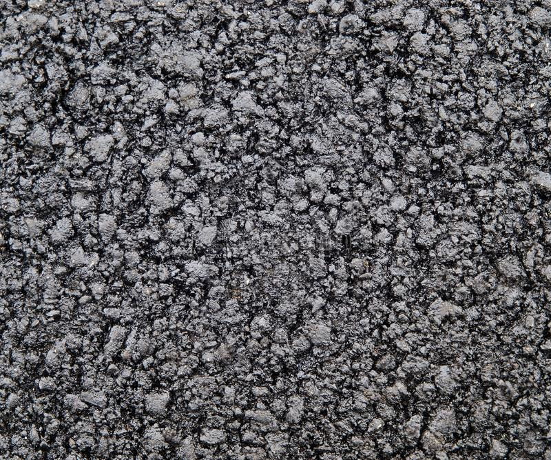 Brand new asphalt texture. Close up stock image