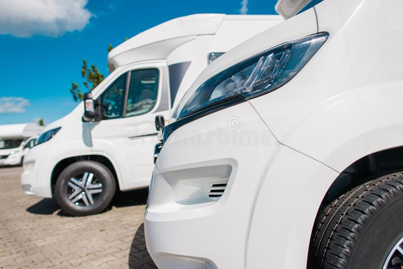Camper Vans For Sale >> Camper Vans For Sale Stock Photo Image Of Horizontal