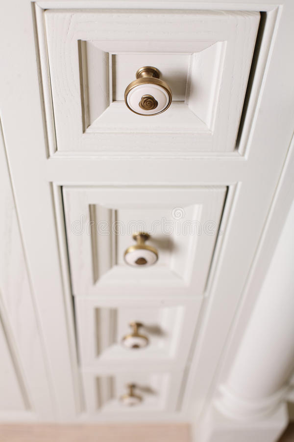 Download Brand new white cabinet stock image. Image of square - 29027125
