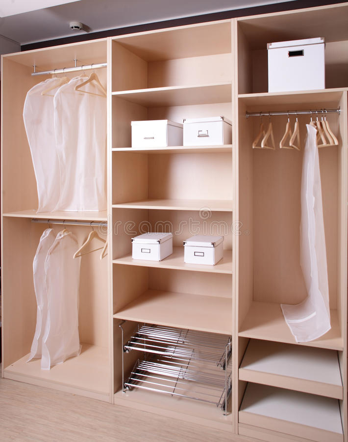 Download Brand New Wooden Wardrobe Stock Photo - Image: 29027110