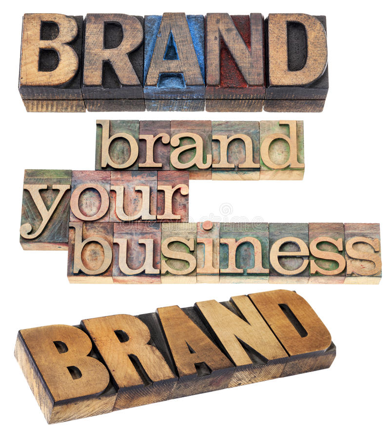 Brand your business royalty free stock photos