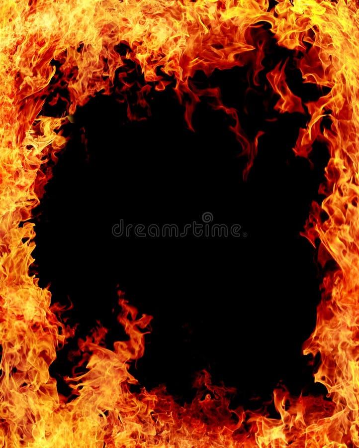 Brandachtergrond stock foto's