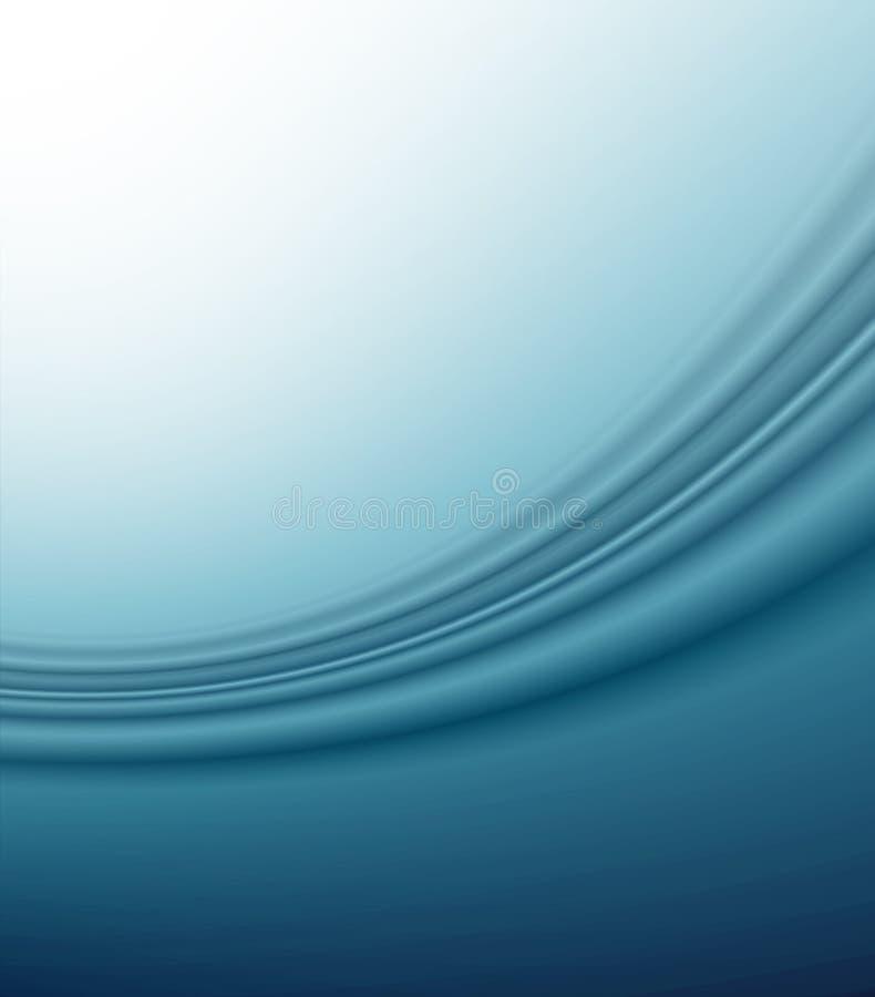 Brandamente azul ilustração stock