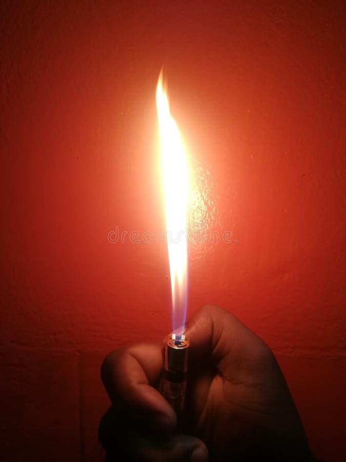 Brandbelysning fotografering för bildbyråer