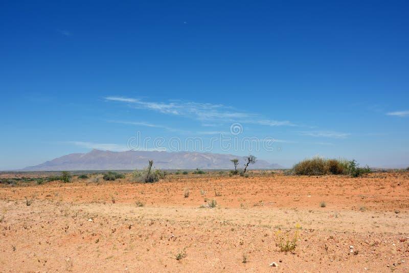 Brandberg山,纳米比亚 库存图片