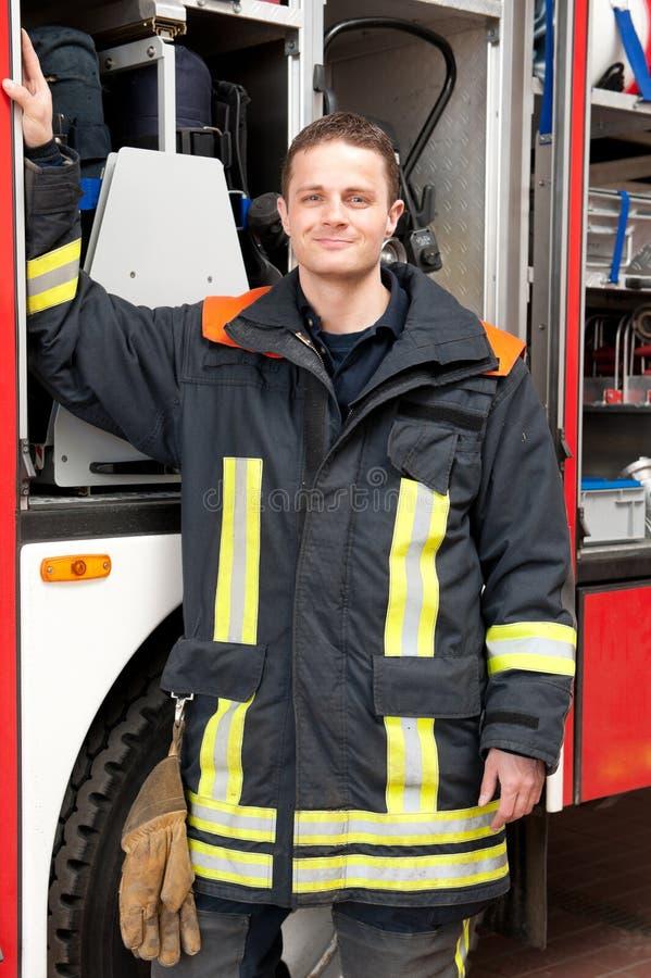 Brandbestrijder stock afbeelding