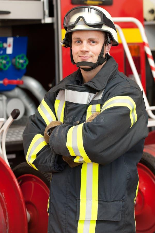Brandbestrijder stock afbeeldingen