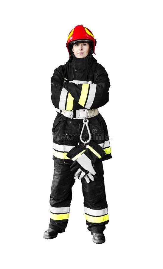 Brandbestrijder royalty-vrije stock afbeelding