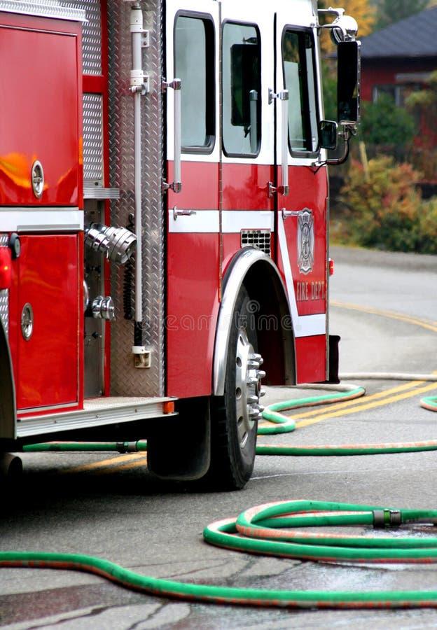 Brandbestrijders stock afbeelding