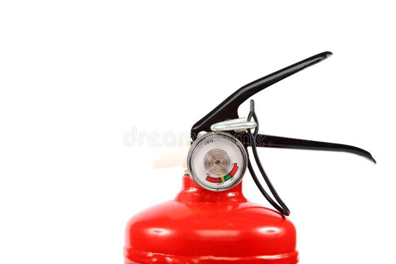 Brandblusapparaat op een witte achtergrond royalty-vrije stock foto