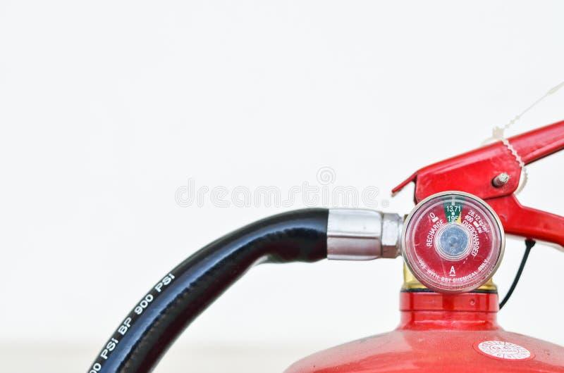 Brandblusapparaat op witte achtergronden royalty-vrije stock foto