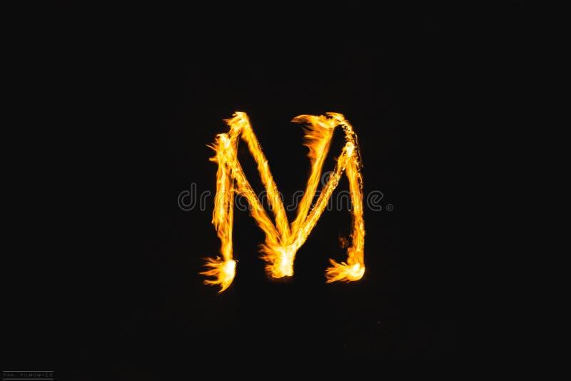 Brandbokstäver arkivfoton
