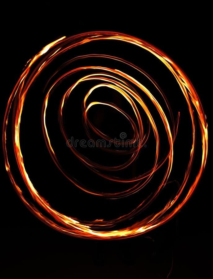 brandcirkel royaltyfri foto
