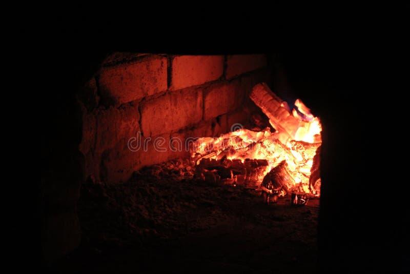 Branden i pannan royaltyfri fotografi