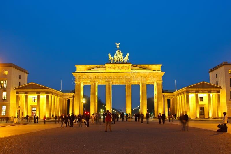 Download Brandenburg gate stock photo. Image of dark, quadriga - 18056488