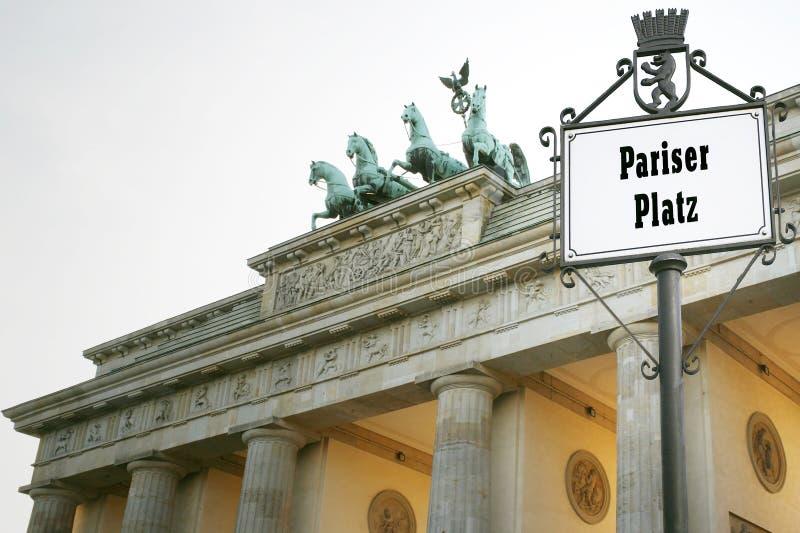 Download Brandenburg Gate stock image. Image of artistic, symbolic - 24213967