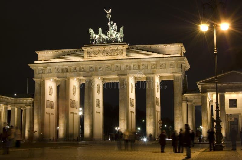 Brandenburg Gate stock image