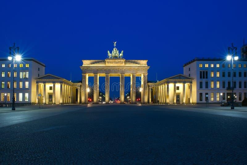 Brandenburg Gate in Berlin royalty free stock image
