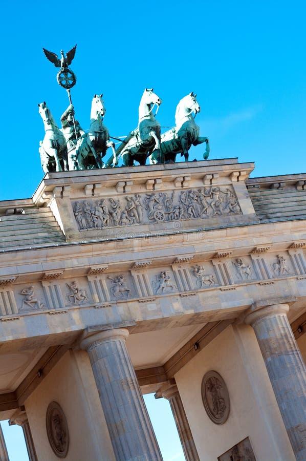 Brandenburg gate Berlin stock photos