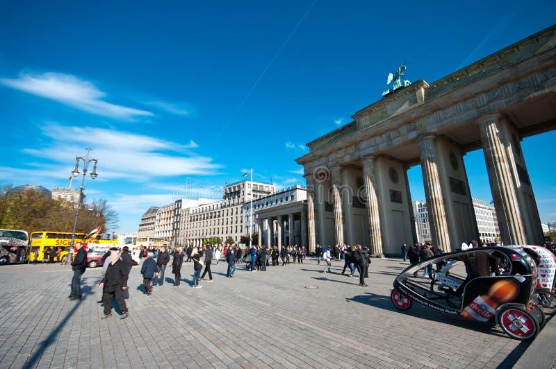 Brandenburg Gate, Berlin stock images