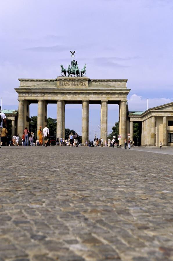 Brandenburg Gate- Berlin, Germany royalty free stock photography