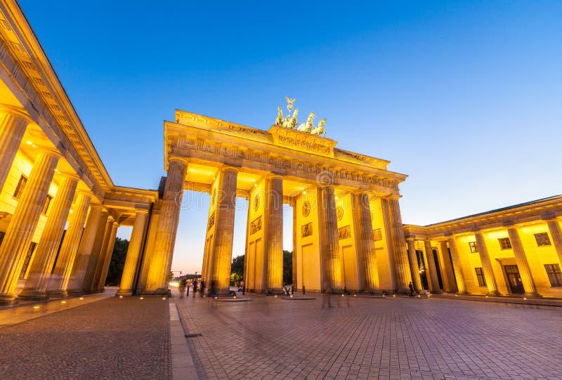 Brandenburg Gate (1788), Berlin, Germany. stock photo
